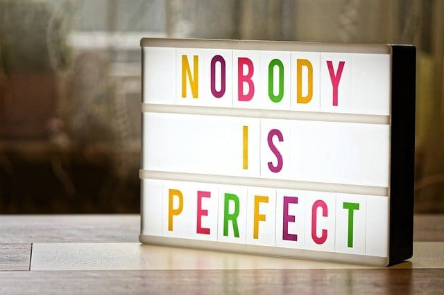 Being Imperfect Is Perfect